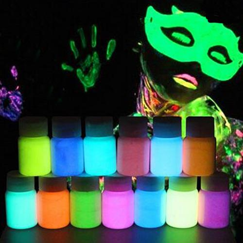 13 Colors Water-Based Luminous Body Paint