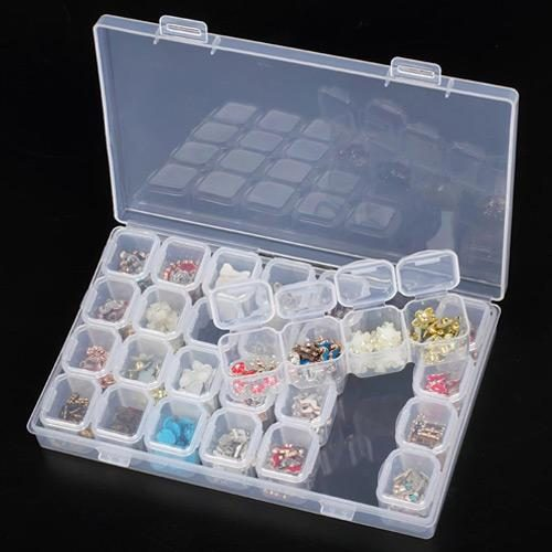 28 Slots Diamond Embroidery Case Accessory