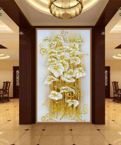 Lily Flower - DIY 5D Diamond Painting