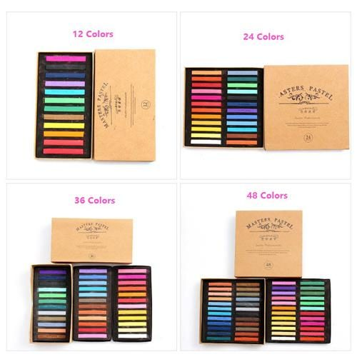 Masters Pastel Chalk Color Set
