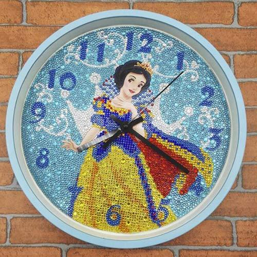 Wall Clock - DIY 5D Diamond Painting